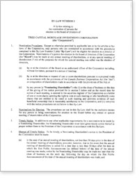 Charter of the Independent Review Committee